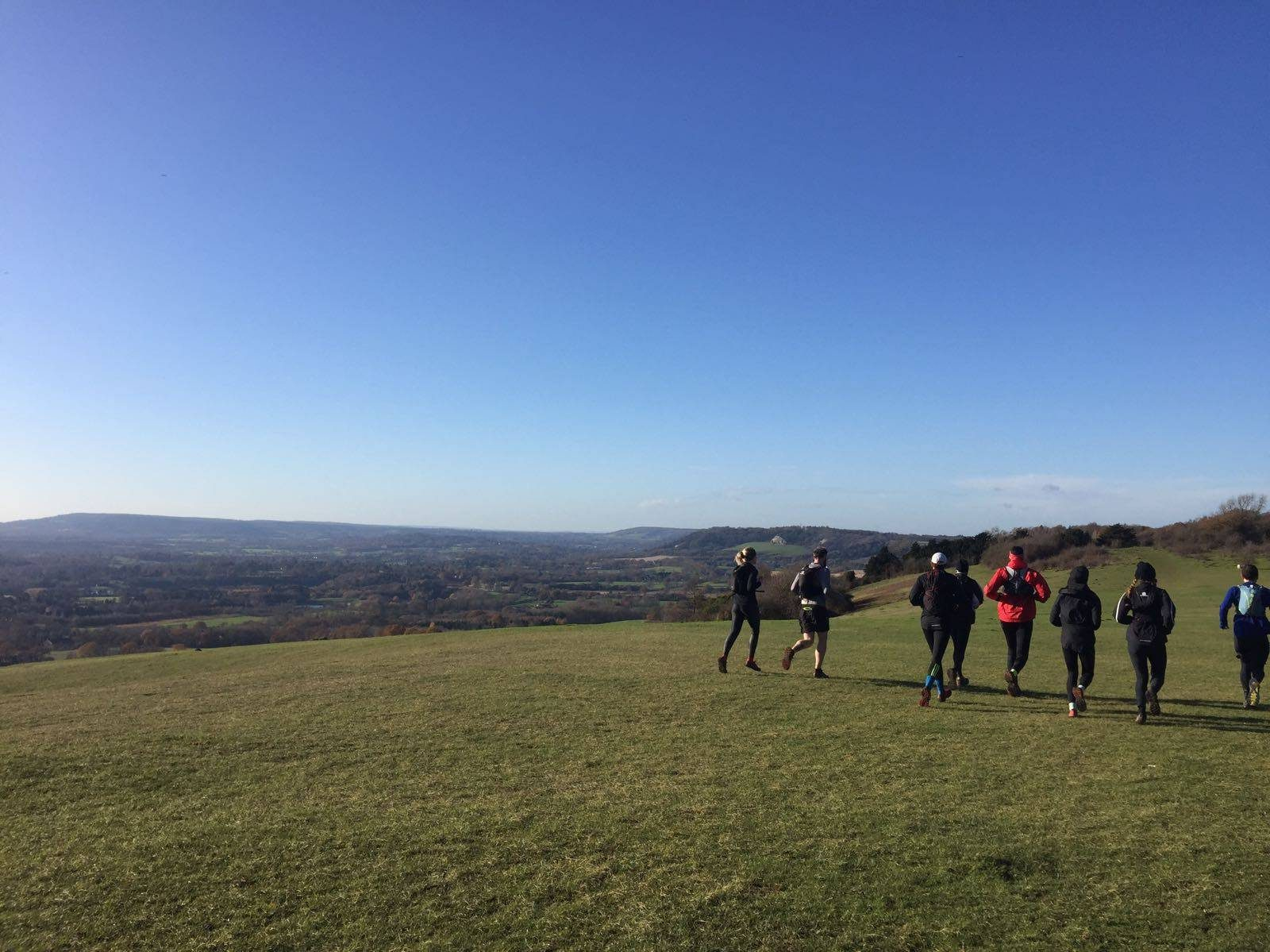Trail running with WTR: Coulsdon to Reigate