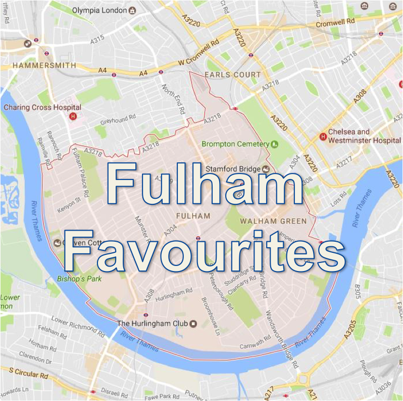 Food favourites in Fulham